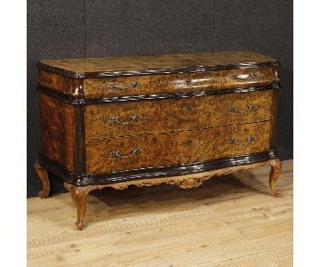 Italian Wood 3 Drawer Dresser