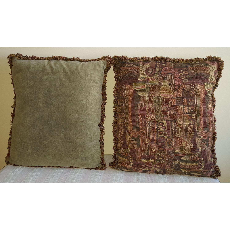 Oversized Reversible Throw Pillows