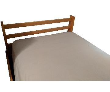 Twin Bed Frame w/ Shelving