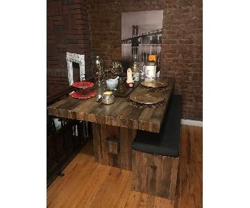 West Elm Emmerson Dining Table w/ 1 Bench