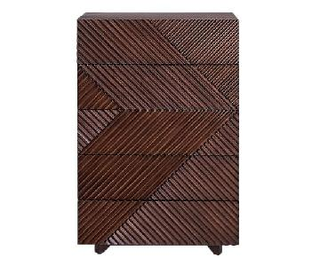 West Elm Rosanna Ceravolo 5-Drawer Dresser in Espresso