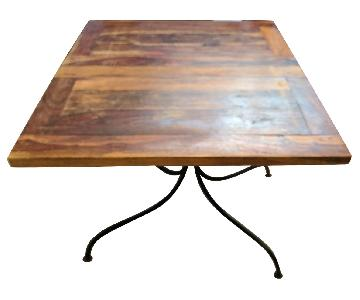 Adnrianna Shamaris Expandable Solid Wood Table