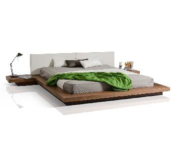 Modloft Worth King Bed w/ Nightstands