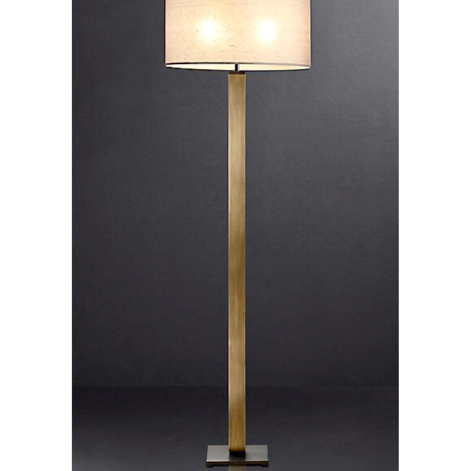 Restoration Hardware Square Column Floor Lamp