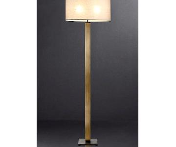 Restoration Hardware Square Column Floor Lamp
