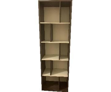 Modern Bookcase w/ Adjustable Divider