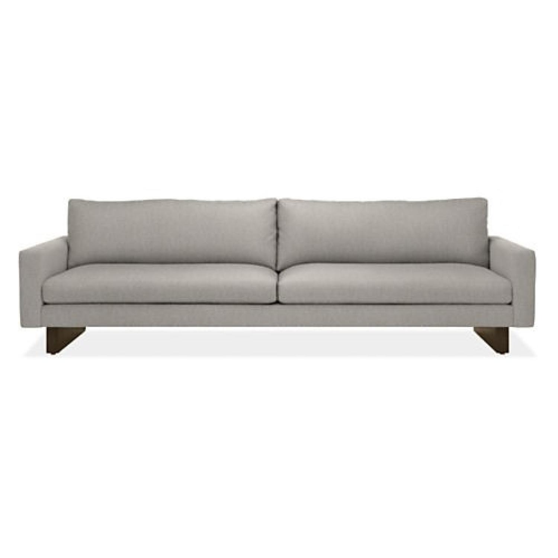 Room & Board Hess Sofa in Light Grey Fabric