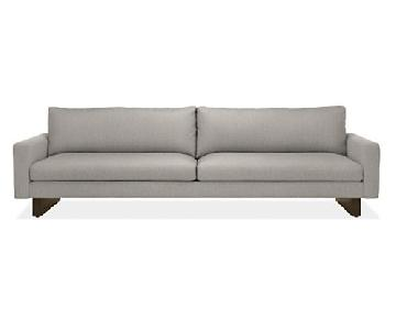 Room & Board Hess Sofa in Light Grey Fabric