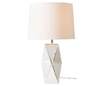West Elm Mirrored Table Lamps