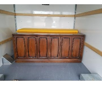 Broyhill Vintage Mid Century Modern Emphasis Server