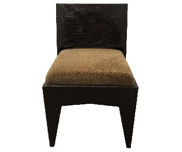 Custom Wood Accent Chair