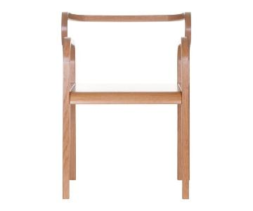 Fred & Juul Odette Dining Chairs in Solid Oak