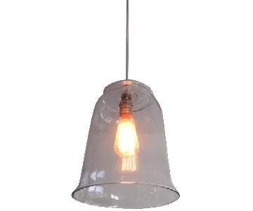 Custom Glass Vase Ceiling Lamps