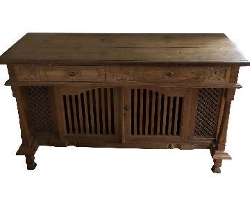 Balinese Teak Credenza/Dresser