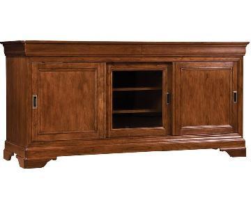 Stickley Furniture Home Entertainment La Rochelle TV Console