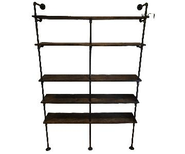 Wood & Pipe Bookshelf