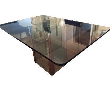 Casa Bella Design House Glass Dining Table