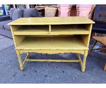 Vintage Style Solid Wood TV Stand/Media Cabinet