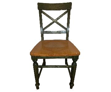 Pier 1 Torrance Sage Dining Chairs