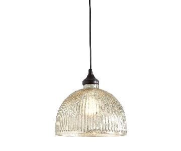 Ballard Designs Can Light Adapter w/ Pendant Shade