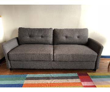 Zinus Contemporary Upholstered 2 Seater Sofa