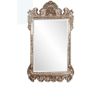 Full Length Large Mirror in Antique Finish