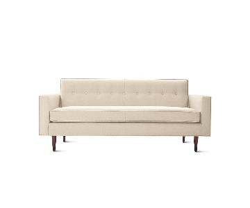 Design Within Reach White Bantam Sofa