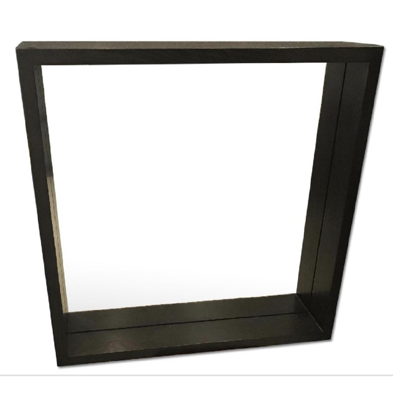 West Elm Walnut Wall Mirror