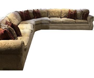 Drexel Heritage Custom Sectional Sofa w/ 2 Chaises