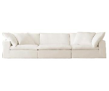 Restoration Hardware Cloud 3-Piece Luxe Modular Sofa