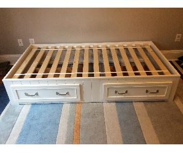 Pottery Barn Kids Belden Storage Bed