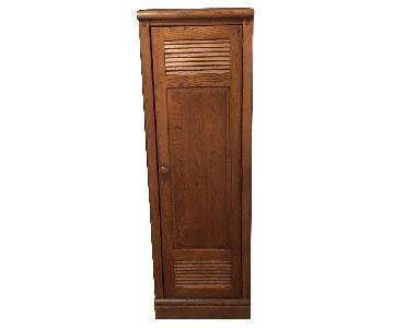 Solid Wood Locker