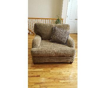 Raymour & Flanigan Chair & a Half