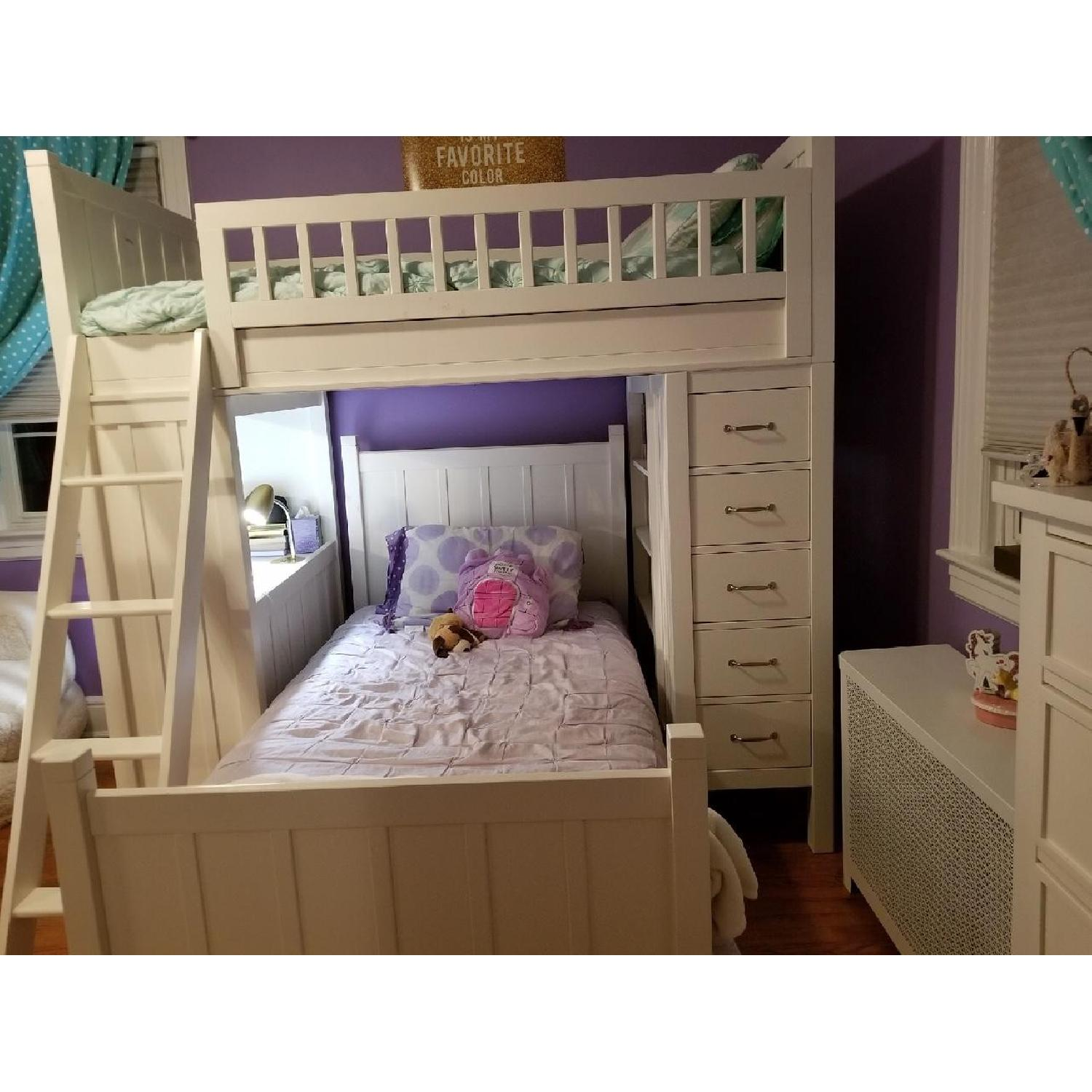 Pottery Barn Camp Twin Bunk & Twin Bed-0