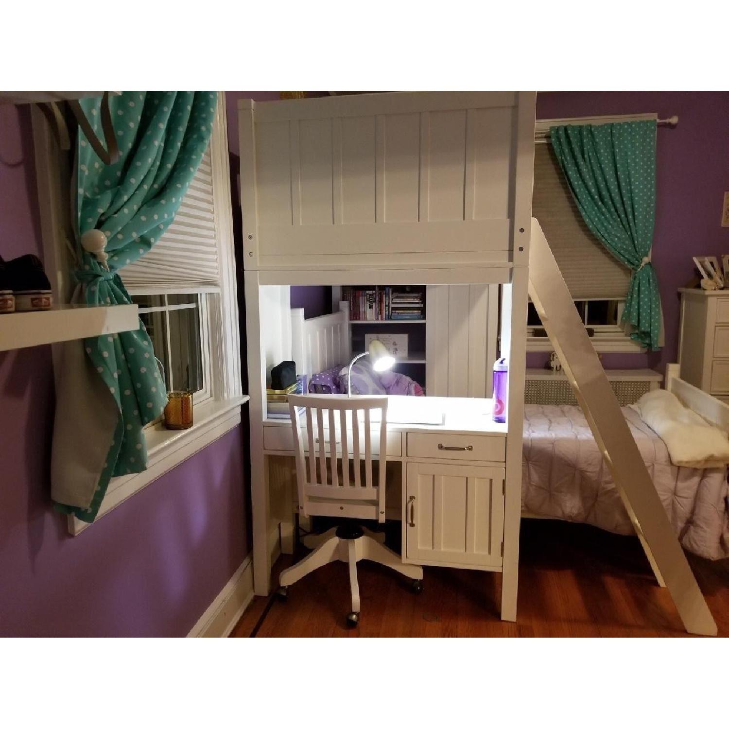 Pottery Barn Camp Twin Bunk & Twin Bed-2