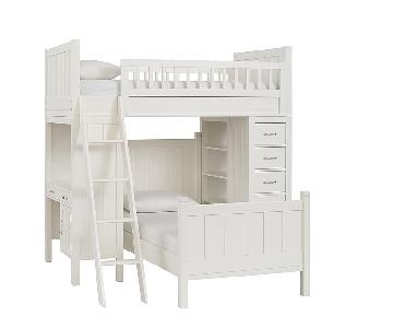 Pottery Barn Camp Twin Bunk & Twin Bed