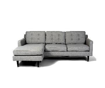 West Elm Drake Reversible Sectional Sofa