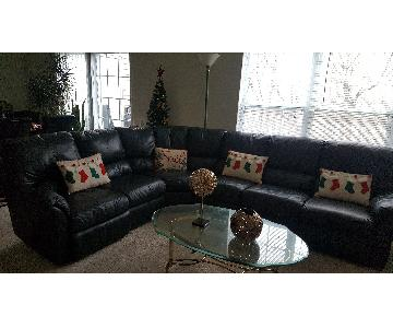 Elran Forest Green 6-Seat Sectional Sofa