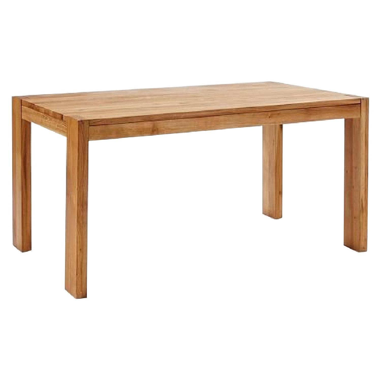 West Elm Boerum Solid Oak Dining Table