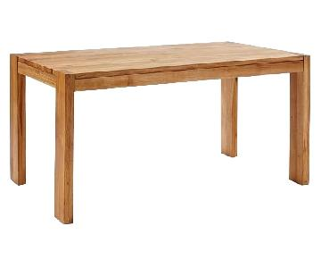 West Elm Boerum Solid Oak Dining Table