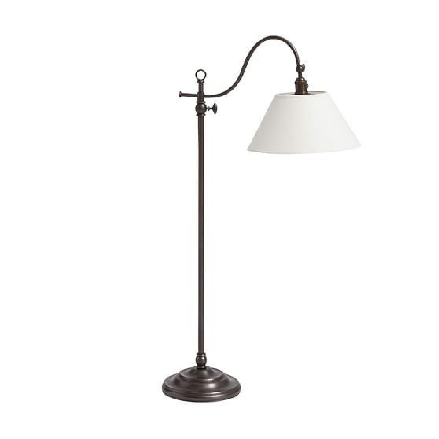 Pottery Barn Antique Bronze Floor Lamp