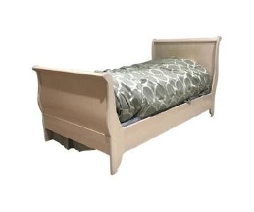 Bellini Contemporary Twin Sleigh Bed