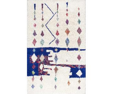 Marrakech Diamond Drip Wool Rug
