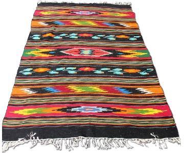 Large Colorful Southwestern Rug/Blanket