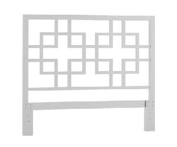West Elm Overlapping Squares Headboard