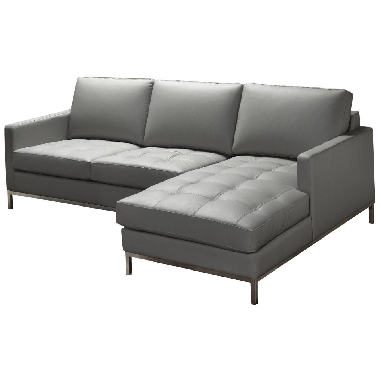 Wayfair Leather Right Facing Sectional Sofa
