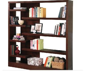 Coaster Modern Semi-Backless Bookcase/Display Unit