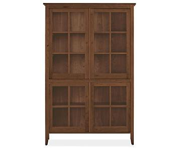 Room & Board Adams Glass Door Cabinet