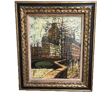 Signed Lentini Oil Painting