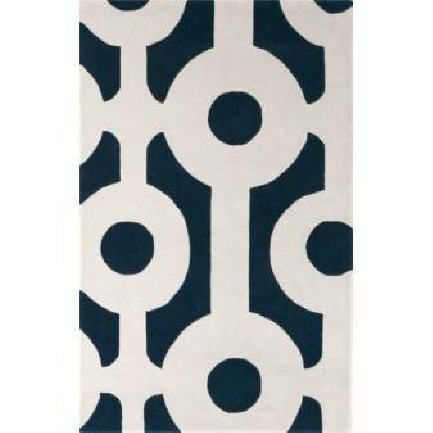 CB2 Roundabout Area Rug